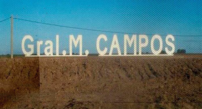 """La otra versión de General Campos: la """"pujante"""" exigencia a un pueblo que sufre"""