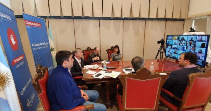 Ziliotto convocó a los intendentes para administrar la cuarentena