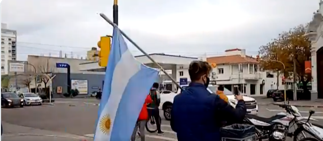 #La Pampa presente: Ruralistas, anticuarentenas, liberales y anticomunistas; reclamos en todo el país por Vicentin