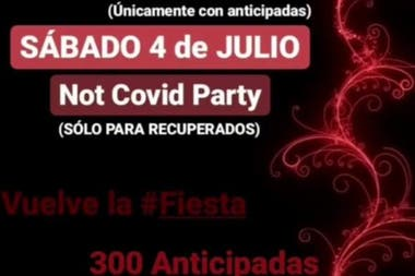 Insólito: Pacientes recuperados de Covid organizan una fiesta clandestina en Bs. As.