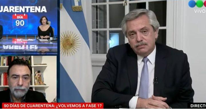 (VIDEO) Alberto cruzó fuertemente a Cristina Pérez en vivo