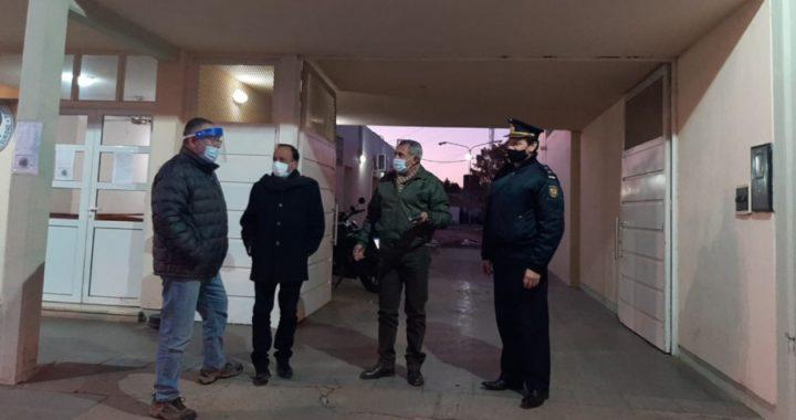 Seguridad se reunió con el intendente de Macachín para acordar asistencia y presencia policial