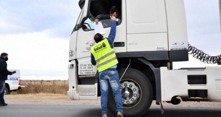 Anchorena, Arauz y Guatraché restringen circulación con localidades de Buenos Aires