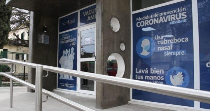 La provincia finalizó la construcción del nuevo vacunatorio en Santa Rosa