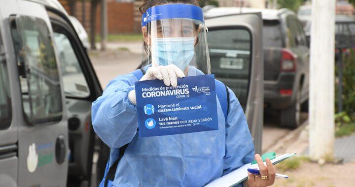 Covid: 44 contagios y 5 fallecimientos en La Pampa