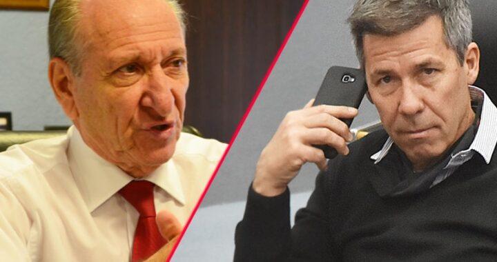 """Fuertes cruces entre el ministro de Salud y Ardohain: """"Vos no usas barbijo"""""""