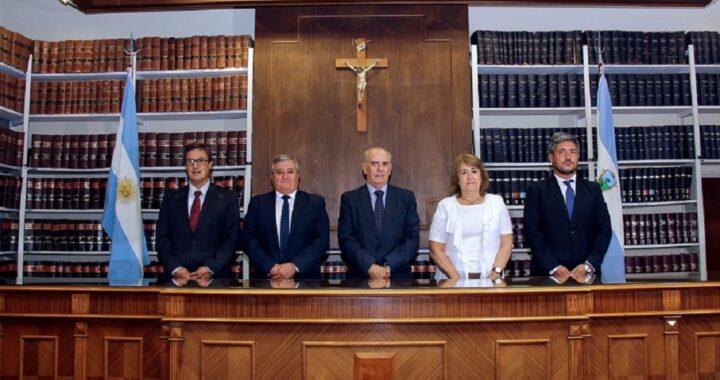 Fernández Mendía presidirá el Superior Tribunal de Justicia de La Pampa en 2021