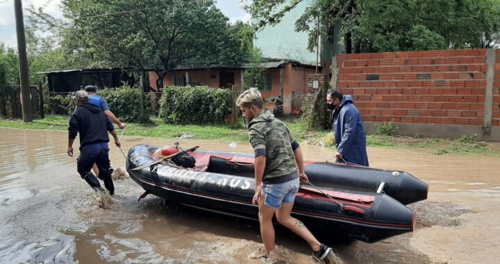 El Comité de Crisis coordinó acciones para asistir a los afectados por la tormenta