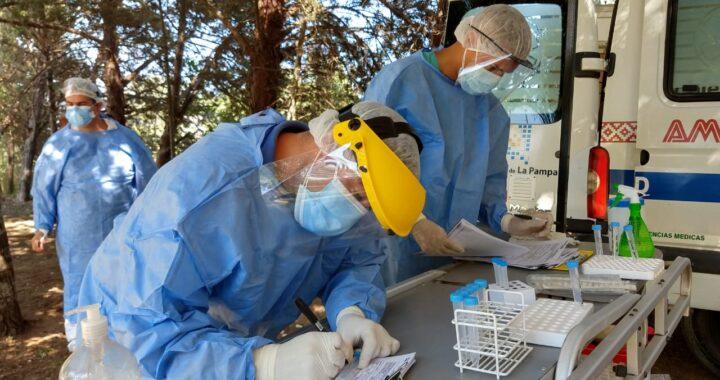 277 nuevos contagios y 3 muertes por covid en La Pampa