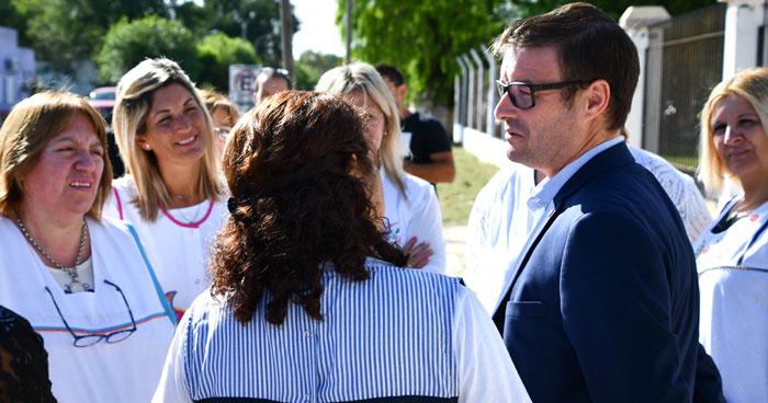 La Pampa informó sobre las inversiones que se hicieron en escuelas en lo que va del año