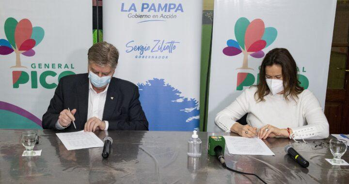 Ziliotto y Alonso inauguraron un centro de Salud en Trebolares; el mandatario firmó convenio para la inversión de 50 millones de pesos en tres proyectos