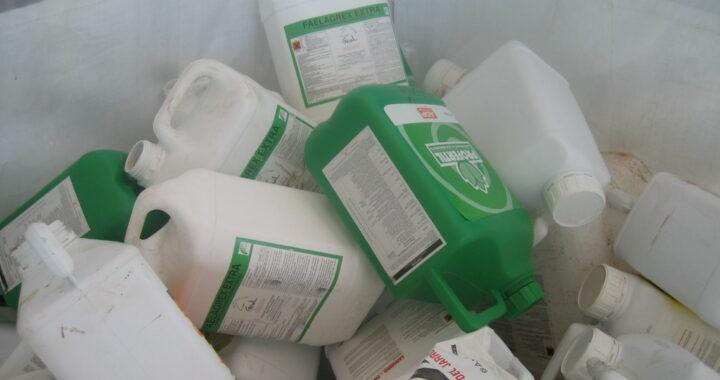 Se recepcionarán envases vacíos de fitosanitarios en 25 de Mayo y Casa de Piedra
