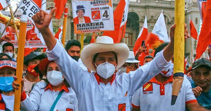 Elecciones en Perú: se confirmó la victoria de Castillo contra Fujimori