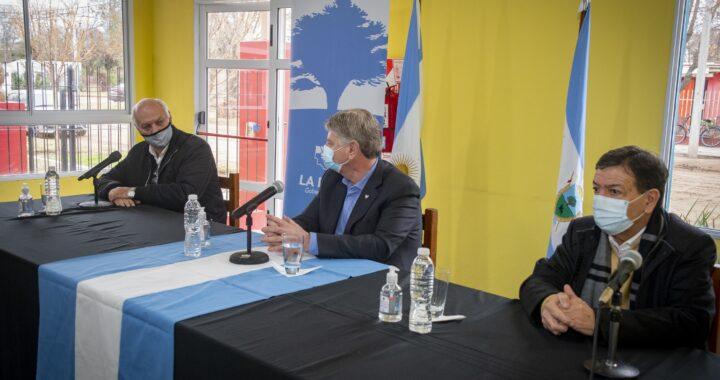 Ziliotto firmó convenios por más de $34 millones para infraestructura en Parera, Rancul y Conhello