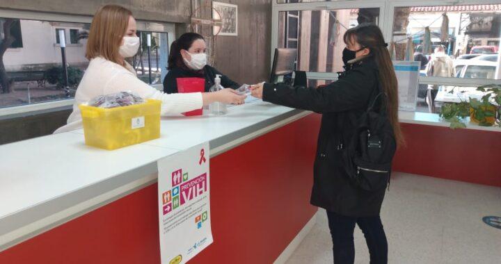 Jornada de prevención de VIH en paralelo con la vacunación contra el covid