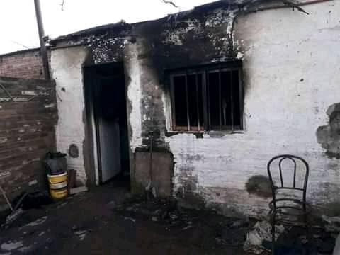 """Se le incendió su casa mientras dormía y lo salvó su perra: """"Si hay un héroe, se llama Martina"""""""