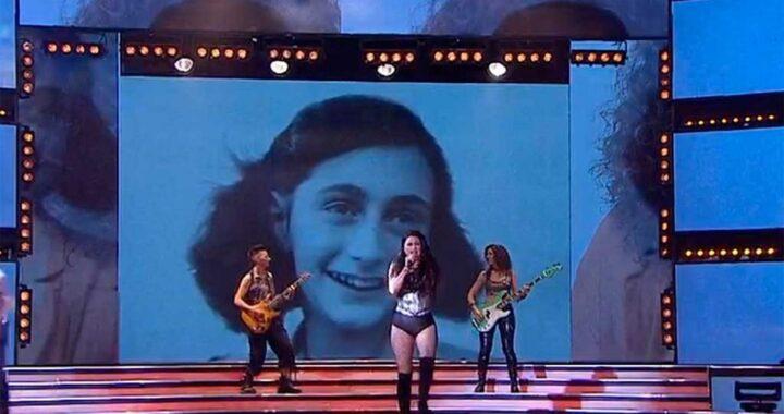 """Fuerte repudio a Tinelli y Showmatch por la utilización de la imagen de Ana Frank en la canción """"Yo no soy esa mujer"""""""