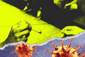 El ritual de compartir porro de hoy se ha convertido en las jeringas transmisoras de VIH de ayer